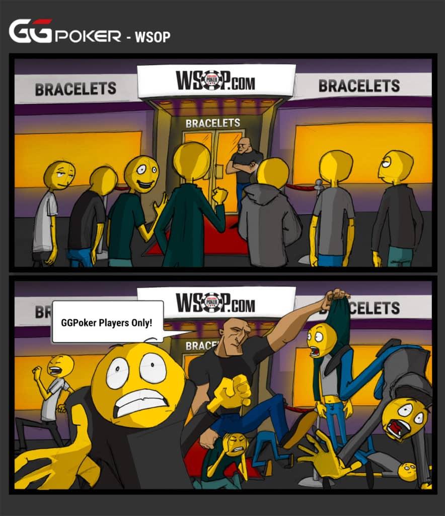 Meet the emojis - WSOP - GGPoker