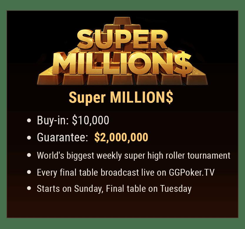 Super MILLION$ Details