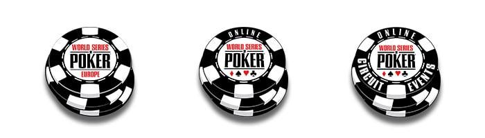 world series of poker logos